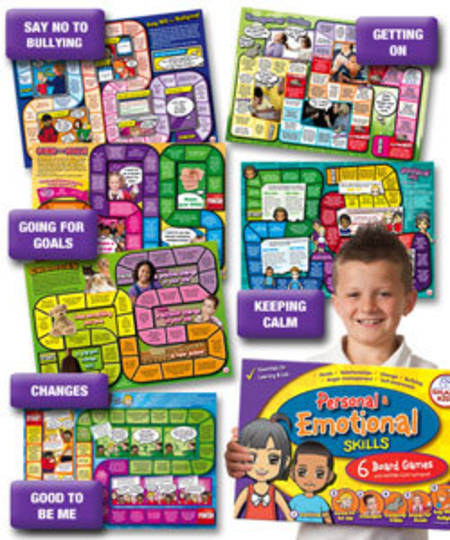 6 Personal and Emotional Skills Board Games