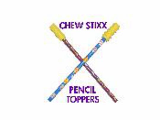 Chew Stix Pencil Toppers