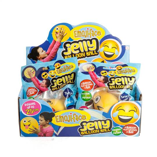 Emoji Jelly Balloon Ball