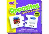 Opposites Fun-to Know Puzzles