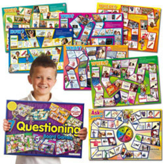 Questioning Board Game