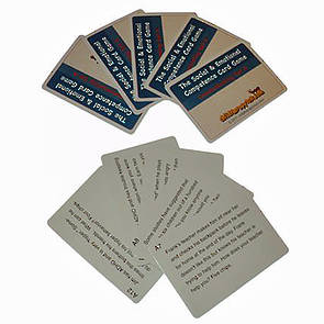 The Social and Emotional Competence Game ADHD Cards