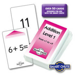 Addition Facts Chute Cards - Level 1