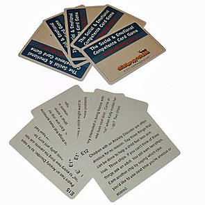 The Social and Emotional Competence Game  Anxiety Cards - Set E
