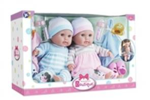 Berenguer Boutique 38cm Soft Body Twins Gift Set