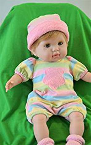 "Baby Girl ""Katie"" with GO to Sleep Eyes - Therapy Doll"
