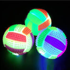 LED light up bouncy ball