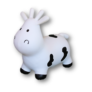 Bouncing Buddy -  Mellow the Bouncy Cow