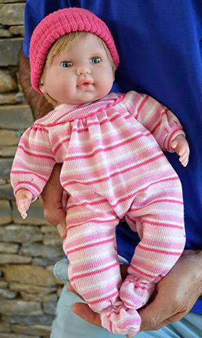 "Baby Girl""Pam"" with GO to Sleep Eyes - Therapy Doll"
