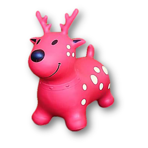 Bouncing Buddy -  Razzi the Prancing Deer